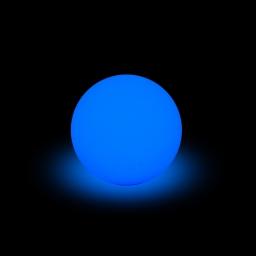 lampe solaire boule pe 8 led multicolore ø30cm