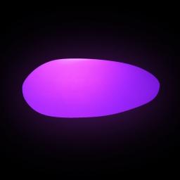 lampe usb galet pe led multicolore 40*15*30cm