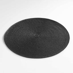 Lot de 6 Set de table (0) 35 cm polypropylene zebulon Noir