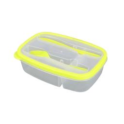 Lunch box +compartiments cous 1.45l 23 x 15 x 6 cm Vert
