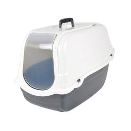 maison de toilette pour chat ivoire avec couvercle ivoire 57*39*h.41cm