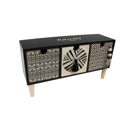 mini meuble 3 tiroirs 30 x 9 x 16 cm mdf voyage berbere