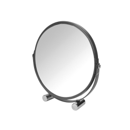 Miroir grossisant  ø17cm douceur d'interieur theme vitamine Anthracite
