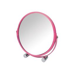Miroir grossisant  ø17cm douceur d'interieur theme vitamine Fuchsia