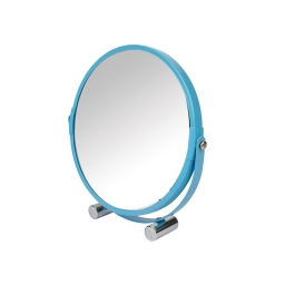 Miroir grossissant (0) 17 cm metal vitamine Bleu ocean