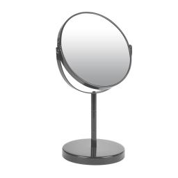 miroir sur pied grossissant x1/x2 metal vitamine anthracite