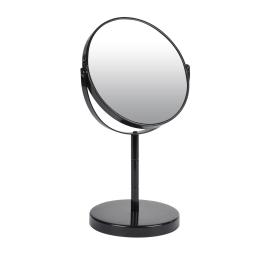 miroir sur pied grossissant x1/x2 metal vitamine noir