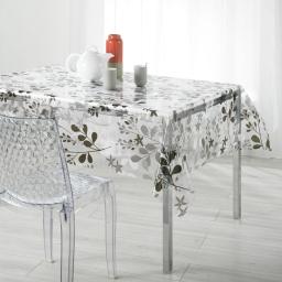 nappe cristal rectangle 140 x 240 cm pvc imprime 14/100e spring