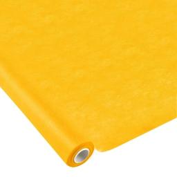 nappe effet tissu 1.20x10m - 50gr/m² - tissu tnt polypropylene 100% - jaune