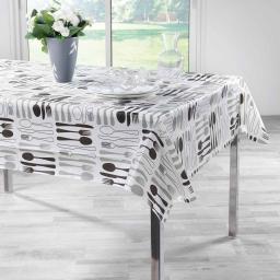 nappe rectangle 140 x 240 cm plastique imprime dinera