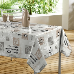 nappe rectangle 140 x 240 cm pvc imprime heritage