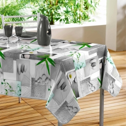 nappe rectangle 140 x 240 cm pvc photoprint escapade