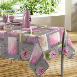 nappe rectangle 140 x 240 cm pvc photoprint petalia
