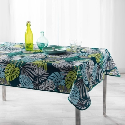 nappe rectangle 150 x 200 cm polyester imprime cap nature