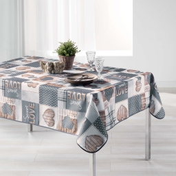nappe rectangle 150 x 200 cm polyester photoprint hearty