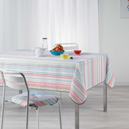 Nappe rectangle 150 x 240 cm polyester imprime analea Multico
