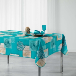 nappe rectangle 150 x 240 cm polyester imprime arborela