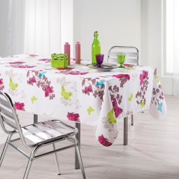 nappe rectangle 150 x 240 cm polyester imprime azura