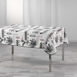 nappe rectangle 150 x 240 cm polyester imprime cocoty