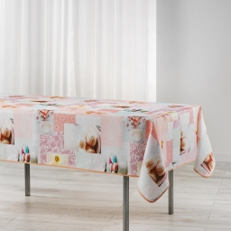 nappe rectangle 150 x 240 cm polyester imprime delicia