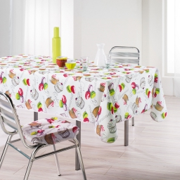 nappe rectangle 150 x 240 cm polyester imprime delicieux