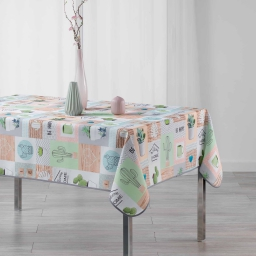 nappe rectangle 150 x 240 cm polyester imprime epinea