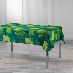 nappe rectangle 150 x 240 cm polyester imprime flore