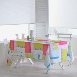 nappe rectangle 150 x 240 cm polyester imprime florida