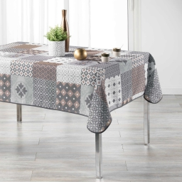 nappe rectangle 150 x 240 cm polyester imprime kario