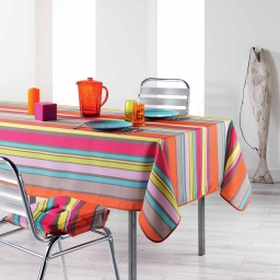 Nappe rectangle 150 x 240 cm polyester imprime marina Multico