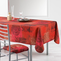 nappe rectangle 150 x 240 cm polyester imprime roxane