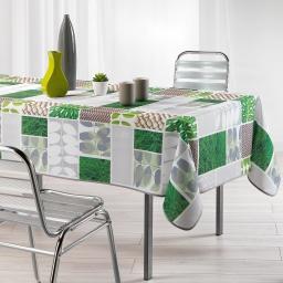 nappe rectangle 150 x 240 cm polyester imprime vegetalia