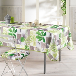 Nappe rectangle 150 x 240 cm polyester photoprint equateur Vert