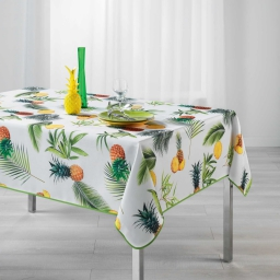 nappe rectangle 150 x 240 cm polyester photoprint fresh ananas