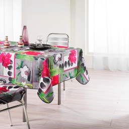 nappe rectangle 150 x 240 cm polyester photoprint orchidee