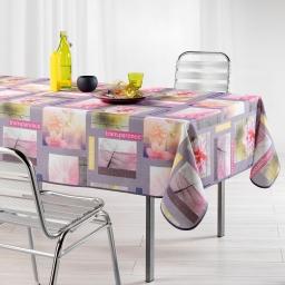 nappe rectangle 150 x 240 cm polyester photoprint petalia