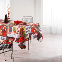 nappe rectangle 150 x 240 cm polyester photoprint tapas