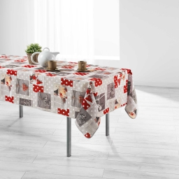 nappe rectangle 150 x 300 cm polyester imprime hiverna