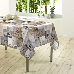 nappe rectangle 150 x 300 cm polyester photoprint etoile givree