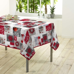 nappe rectangle 150 x 300 cm polyester photoprint floconette