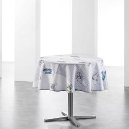 nappe ronde (0) 180 cm polyester imprime cactae