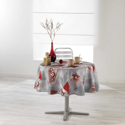 nappe ronde (0) 180 cm polyester imprime coldy