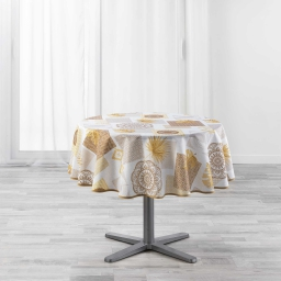 nappe ronde (0) 180 cm polyester imprime opera