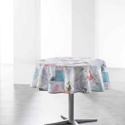 nappe ronde (0) 180 cm polyester photoprint gabriella