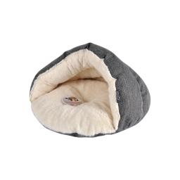 niche chausson pour chat effet laine 45*22cm