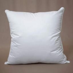 oreiller 60 x 60 cm polyester uni anti acarien premium