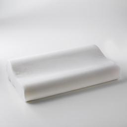 oreiller ergonomique 50 x 30 x 10/7 cm polyester uni confort