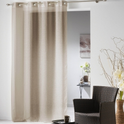 P pan. oei 140x240 voile sable isa  267451 Taupe