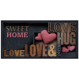 p tapis 57x115 imp. happy love 298878