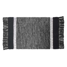 P tapis rectangle 50 x 80 cm coton jacquard cuzco  382554 Gris